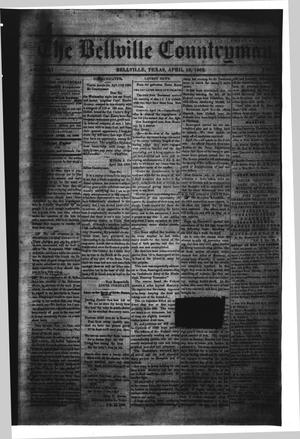Primary view of object titled 'The Bellville Countryman (Bellville, Tex.), Vol. 2, No. 36, Ed. 1 Saturday, April 19, 1862'.
