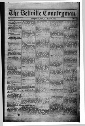 The Bellville Countryman (Bellville, Tex.), Vol. 2, No. 40, Ed. 1 Saturday, May 17, 1862