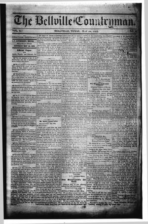 Primary view of object titled 'The Bellville Countryman (Bellville, Tex.), Vol. 2, No. 41, Ed. 1 Saturday, May 24, 1862'.