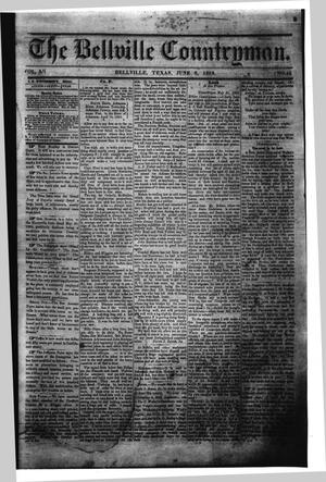 The Bellville Countryman (Bellville, Tex.), Vol. 3, No. 44, Ed. 1 Saturday, June 6, 1863