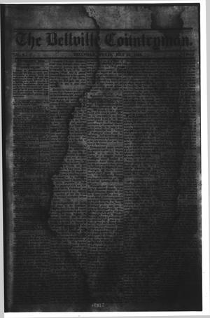 Primary view of object titled 'The Bellville Countryman (Bellville, Tex.), Vol. 4, No. 1, Ed. 1 Saturday, July 25, 1863'.