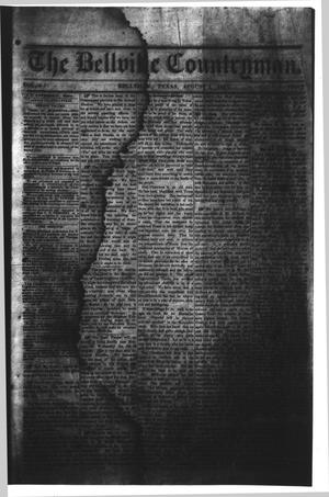 Primary view of object titled 'The Bellville Countryman (Bellville, Tex.), Vol. 4, No. 2, Ed. 1 Saturday, August 1, 1863'.