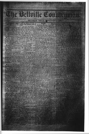 The Bellville Countryman (Bellville, Tex.), Vol. 4, No. 8, Ed. 1 Saturday, September 12, 1863