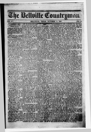 The Bellville Countryman (Bellville, Tex.), Vol. 4, No. 11, Ed. 1 Saturday, October 3, 1863