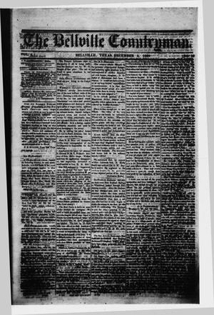 Primary view of object titled 'The Bellville Countryman (Bellville, Tex.), Vol. 4, No. 20, Ed. 1 Saturday, December 5, 1863'.