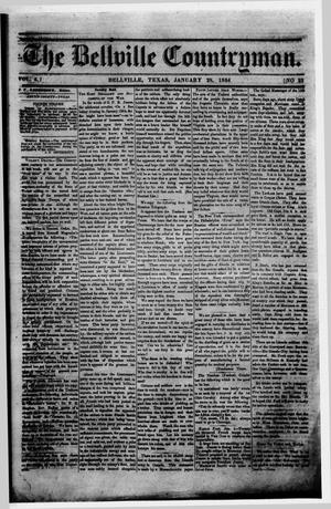 Primary view of object titled 'The Bellville Countryman (Bellville, Tex.), Vol. 4, No. 23, Ed. 1 Thursday, January 28, 1864'.