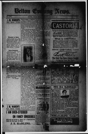 Belton Evening News. (Belton, Tex.), Vol. 18, No. 214, Ed. 1 Monday, January 5, 1903