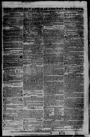 Primary view of The Civilian and Galveston Gazette. (Galveston, Tex.), Vol. 3, No. 40, Ed. 1 Wednesday, November 4, 1840