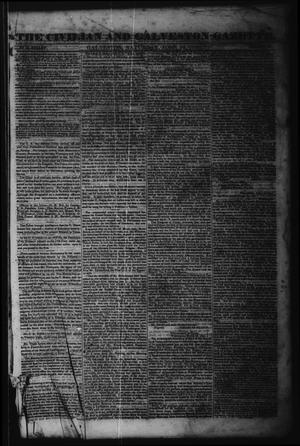 The Civilian and Galveston Gazette. (Galveston, Tex.), Vol. 6, Ed. 1 Saturday, June 15, 1844