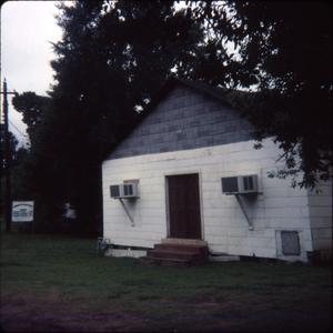 Primary view of object titled '[Corinth Baptist Church, Harrison County]'.
