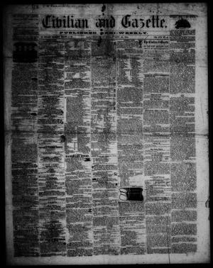Civilian and Gazette. (Galveston, Tex.), Vol. 17, No. 44, Ed. 1 Tuesday, November 21, 1854
