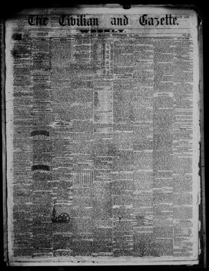 Primary view of object titled 'The Civilian and Gazette. Weekly. (Galveston, Tex.), Vol. 23, No. 23, Ed. 1 Tuesday, September 11, 1860'.