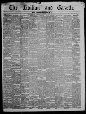 Primary view of object titled 'The Civilian and Gazette. Weekly. (Galveston, Tex.), Vol. 24, No. 5, Ed. 1 Tuesday, May 7, 1861'.