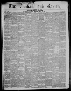 The Civilian and Gazette. Weekly. (Galveston, Tex.), Vol. 24, No. 7, Ed. 1 Tuesday, May 21, 1861