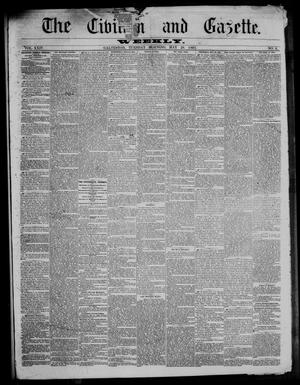 Primary view of object titled 'The Civilian and Gazette. Weekly. (Galveston, Tex.), Vol. 24, No. 8, Ed. 1 Tuesday, May 28, 1861'.