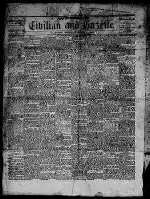 Primary view of object titled 'Weekly Civilian and Gazette. (Galveston, Tex.), Ed. 1 Thursday, March 21, 1867'.