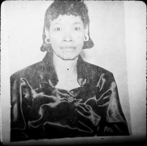 Primary view of object titled '[African-American Woman in Harrison County]'.