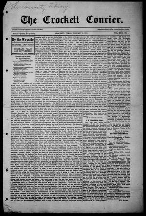 Primary view of object titled 'The Crockett Courier (Crockett, Tex.), Vol. 22, No. 2, Ed. 1 Thursday, February 2, 1911'.