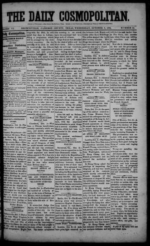 The Daily Cosmopolitan (Brownsville, Tex.), Vol. 6, No. 44, Ed. 1 Wednesday, October 8, 1884