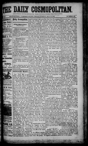 The Daily Cosmopolitan (Brownsville, Tex.), Vol. 6, No. 226, Ed. 1 Tuesday, May 12, 1885