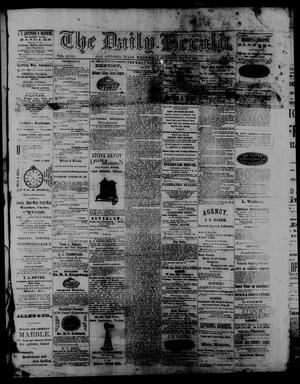 Primary view of object titled 'The Daily Herald. (San Antonio, Tex.), Vol. 17, No. 89, Ed. 1 Wednesday, May 6, 1874'.