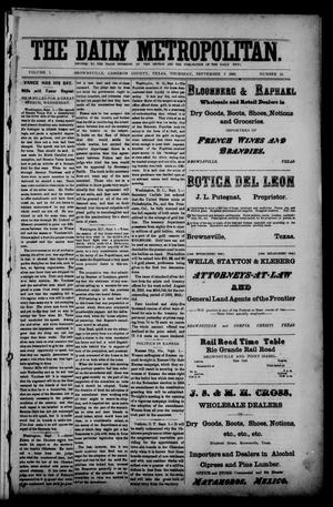 The Daily Metropolitan (Brownsville, Tex.), Vol. 1, No. 16, Ed. 1 Thursday, September 7, 1893