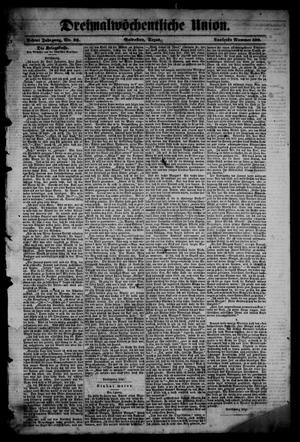 Dreimalwöchentliche Union (Galveston, Tex.), Vol. 8, No. 32, Ed. 1 Tuesday, January 9, 1866