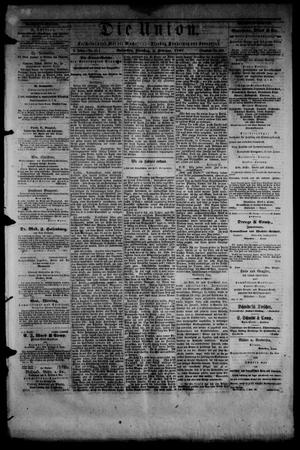Die Union (Galveston, Tex.), Vol. 9, No. 44, Ed. 1 Tuesday, February 5, 1867