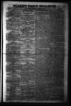 Primary view of object titled 'Flake's Daily Bulletin. (Galveston, Tex.), Vol. 1, No. 11, Ed. 1 Tuesday, June 27, 1865'.