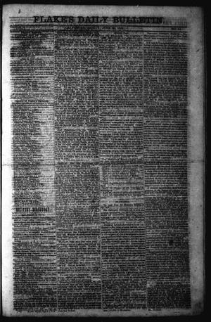Primary view of object titled 'Flake's Daily Bulletin. (Galveston, Tex.), Vol. 1, No. 14, Ed. 1 Friday, June 30, 1865'.
