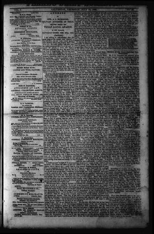 Primary view of object titled 'Flake's Daily Bulletin. (Galveston, Tex.), Vol. 1, No. 23, Ed. 1 Wednesday, July 12, 1865'.