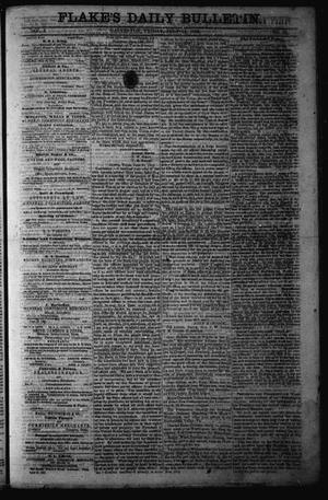 Primary view of object titled 'Flake's Daily Bulletin. (Galveston, Tex.), Vol. 1, No. 25, Ed. 1 Friday, July 14, 1865'.
