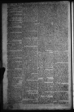 Primary view of object titled 'Flake's Daily Bulletin. (Galveston, Tex.), Vol. 1, No. 27, Ed. 1 Monday, July 17, 1865'.