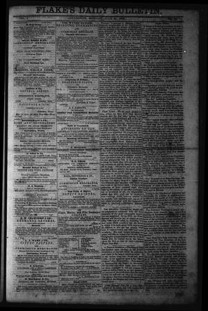Primary view of object titled 'Flake's Daily Bulletin. (Galveston, Tex.), Vol. 1, No. 33, Ed. 1 Monday, July 24, 1865'.