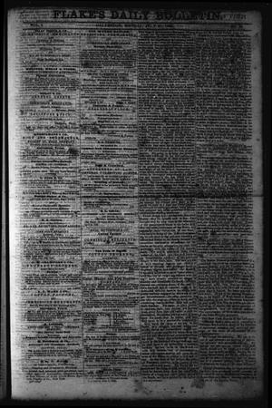 Primary view of object titled 'Flake's Daily Bulletin. (Galveston, Tex.), Vol. 1, No. 39, Ed. 1 Monday, July 31, 1865'.