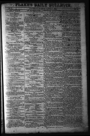 Primary view of object titled 'Flake's Daily Bulletin. (Galveston, Tex.), Vol. 1, No. 40, Ed. 1 Tuesday, August 1, 1865'.
