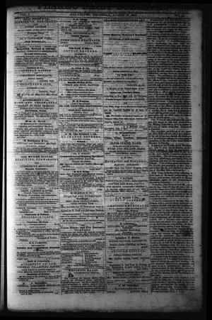 Primary view of object titled 'Flake's Daily Bulletin. (Galveston, Tex.), Vol. 1, No. 42, Ed. 1 Thursday, August 3, 1865'.