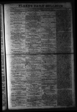 Primary view of object titled 'Flake's Daily Bulletin. (Galveston, Tex.), Vol. 1, No. 48, Ed. 1 Thursday, August 10, 1865'.