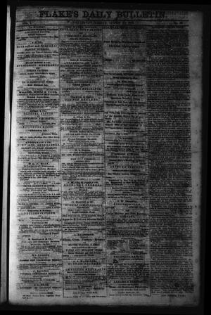 Primary view of object titled 'Flake's Daily Bulletin. (Galveston, Tex.), Vol. 1, No. 49, Ed. 1 Friday, August 11, 1865'.