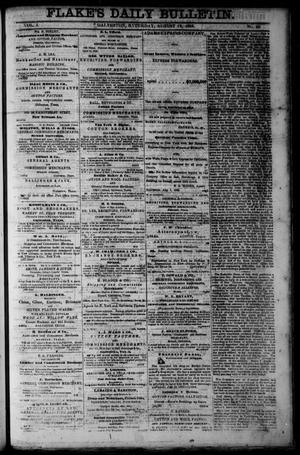 Flake's Daily Bulletin. (Galveston, Tex.), Vol. 1, No. 50, Ed. 1 Saturday, August 12, 1865