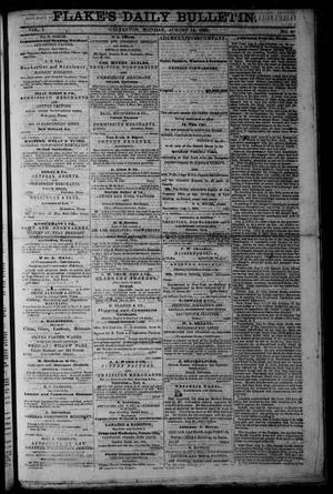 Primary view of object titled 'Flake's Daily Bulletin. (Galveston, Tex.), Vol. 1, No. 51, Ed. 1 Monday, August 14, 1865'.