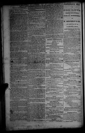 Primary view of object titled 'Flake's Daily Bulletin. (Galveston, Tex.), Vol. 1, No. 52, Ed. 1 Tuesday, August 15, 1865'.