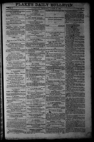 Primary view of Flake's Daily Bulletin. (Galveston, Tex.), Vol. 1, No. 54, Ed. 1 Thursday, August 17, 1865