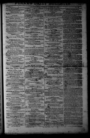 Primary view of object titled 'Flake's Daily Bulletin. (Galveston, Tex.), Vol. 1, No. 56, Ed. 1 Saturday, August 19, 1865'.