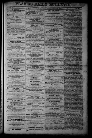 Primary view of object titled 'Flake's Daily Bulletin. (Galveston, Tex.), Vol. 1, No. 68, Ed. 1 Saturday, September 2, 1865'.