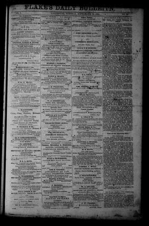 Primary view of object titled 'Flake's Daily Bulletin. (Galveston, Tex.), Vol. 1, No. 76, Ed. 1 Tuesday, September 12, 1865'.