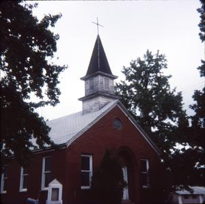 Primary view of object titled '[Church in Harrison County]'.