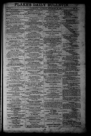 Primary view of object titled 'Flake's Daily Bulletin. (Galveston, Tex.), Vol. 1, No. 92, Ed. 1 Saturday, September 30, 1865'.