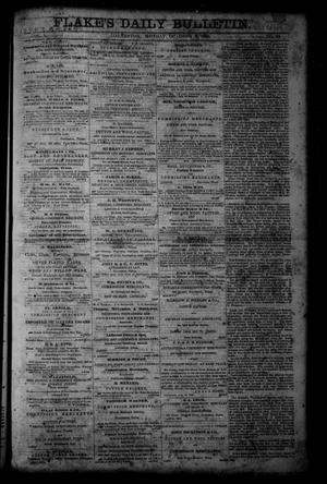 Primary view of object titled 'Flake's Daily Bulletin. (Galveston, Tex.), Vol. 1, No. 93, Ed. 1 Monday, October 2, 1865'.