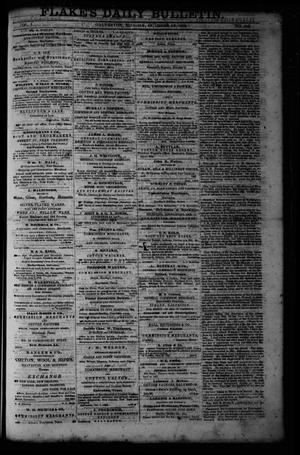 Primary view of object titled 'Flake's Daily Bulletin. (Galveston, Tex.), Vol. 1, No. 105, Ed. 1 Monday, October 16, 1865'.
